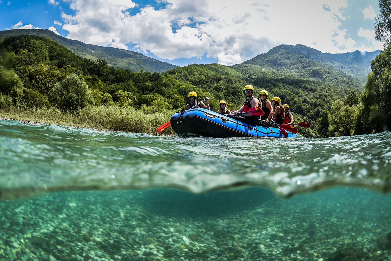 Drina River Rafting